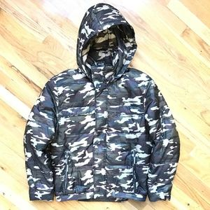 Marc New York by Andrew Marc Camo Puffer Coat